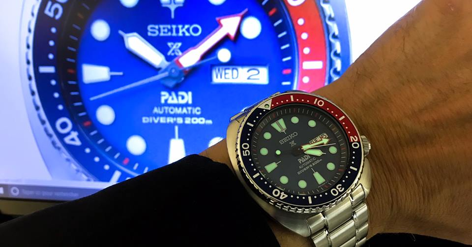 seiko padi automatique